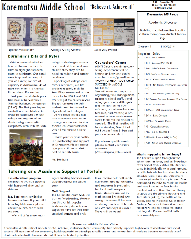 KMS Quarter 1 Newsletter_page1