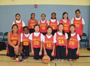 Girls Basketball Team_2014-15
