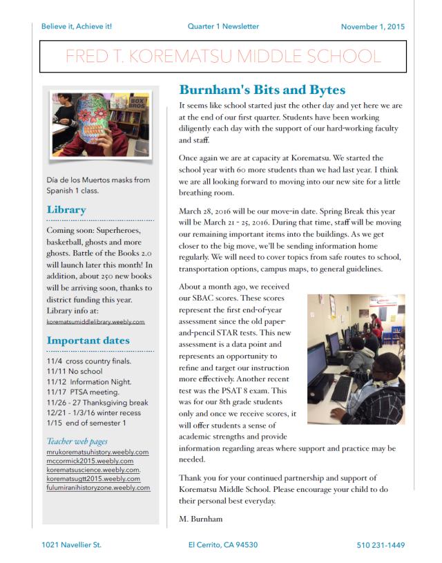 Quarter 1 Newsletter_2015_1
