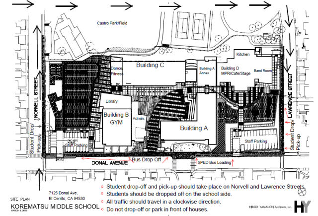 Korematsu_New campus map